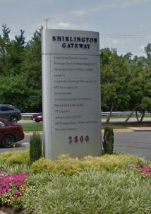 VHC Physician Group, Primary Care Arlington, Shirlington Gateway Building Sign